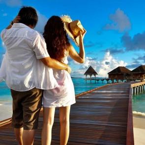 Maldives, Romantic couple, Excursion, vacation, banita tour, Sale