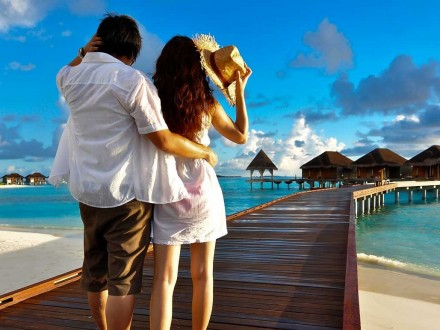 Maldives, Romantic couple, Excursion, vacation, banita tour, Sale