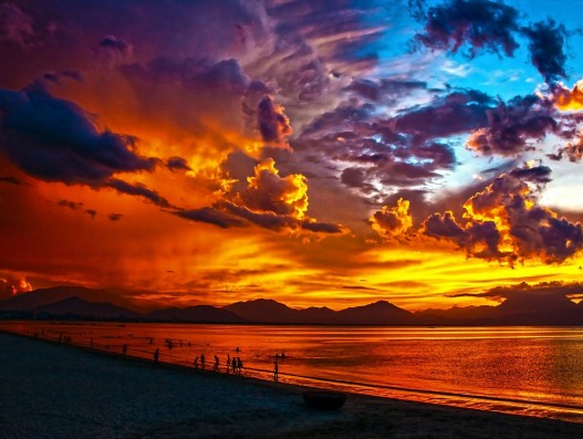 Beach, Vietnam, Sunset, banita tour