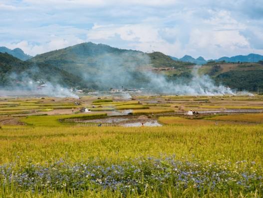 vietnam, dienbien, landscape , banita tour