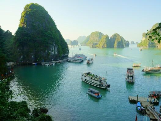 vietnam, halong bay, shipping , Asia, Banita tour
