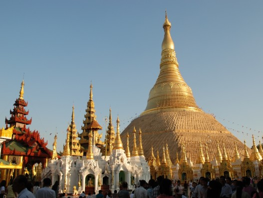 Shwedagon Pagoda Yangon Myanmar Asia Banita Tour